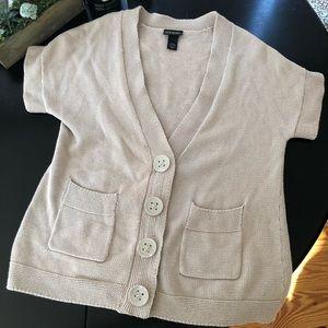 Lane Bryant 14/16 short sleeve cardigan
